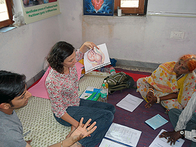 Guni Akupunktur Projekt in Rajasthan - Indien